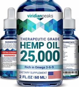 Viridian Peaks Hemp Oil