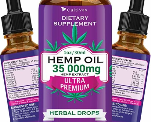 Cultivax Hemp Oil 1