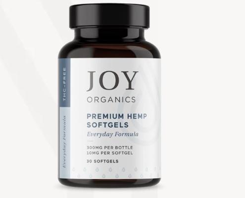 Joy Organics Every Day CBD Softgels