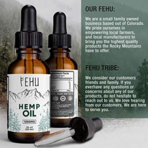 Fehu Hemp oil