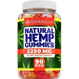 GramRight Natural Hemp Gummies
