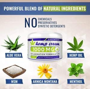 Greenford Hemp Cream 1