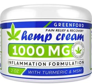 Greenford Hemp Cream