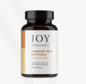 Joy Organics With Curcumin