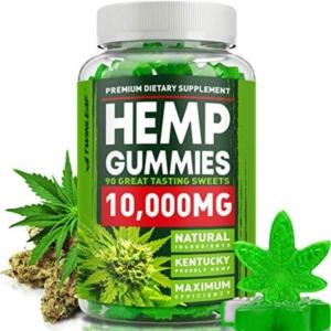 Premium Dietary Supplement Hemp Gummies