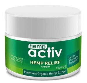 Hemp Active Hemp Relief Cream