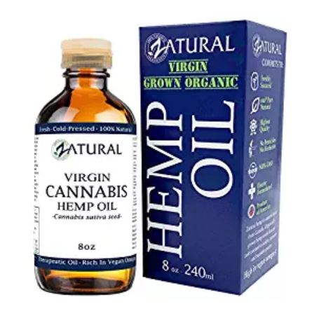 Zatural Hemp Oil 8oz