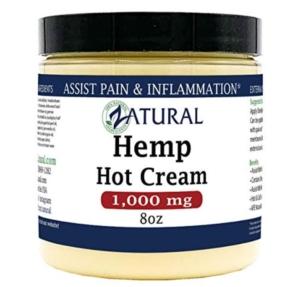 Zatural hot Hemp Cream