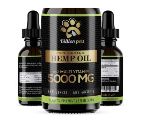 Billion Pets Hemp Oil For Pets