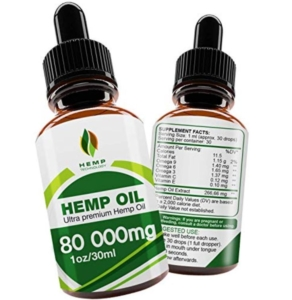 Hemp Technology Premium Hemp Oil