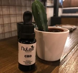 NuLeaf Naturals CBD Oil Hero