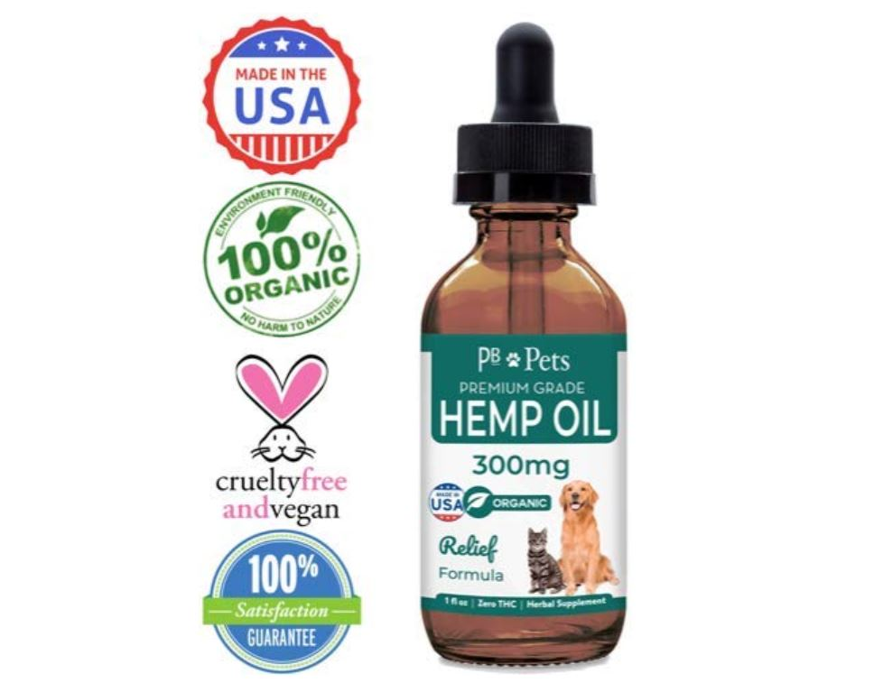 PB Pets Hemp Oil For Dogs