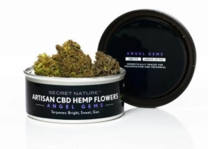 Secret Nature's Angel Gems hemp flowers