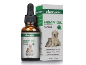 Vitablossom Hemp Oil For Pets 500mg