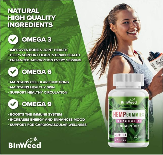 Binweed Hemp Gummies 3