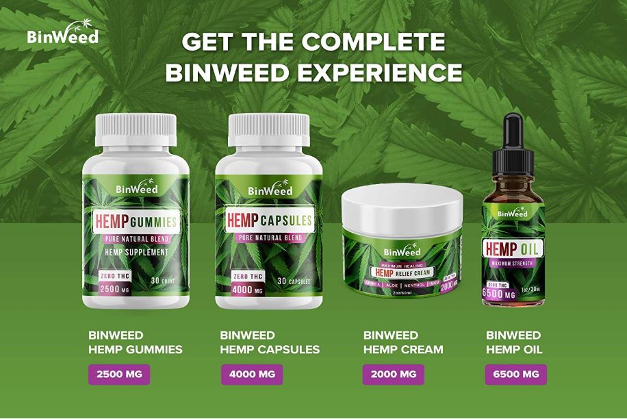 Binweed Hemp Gummies 4