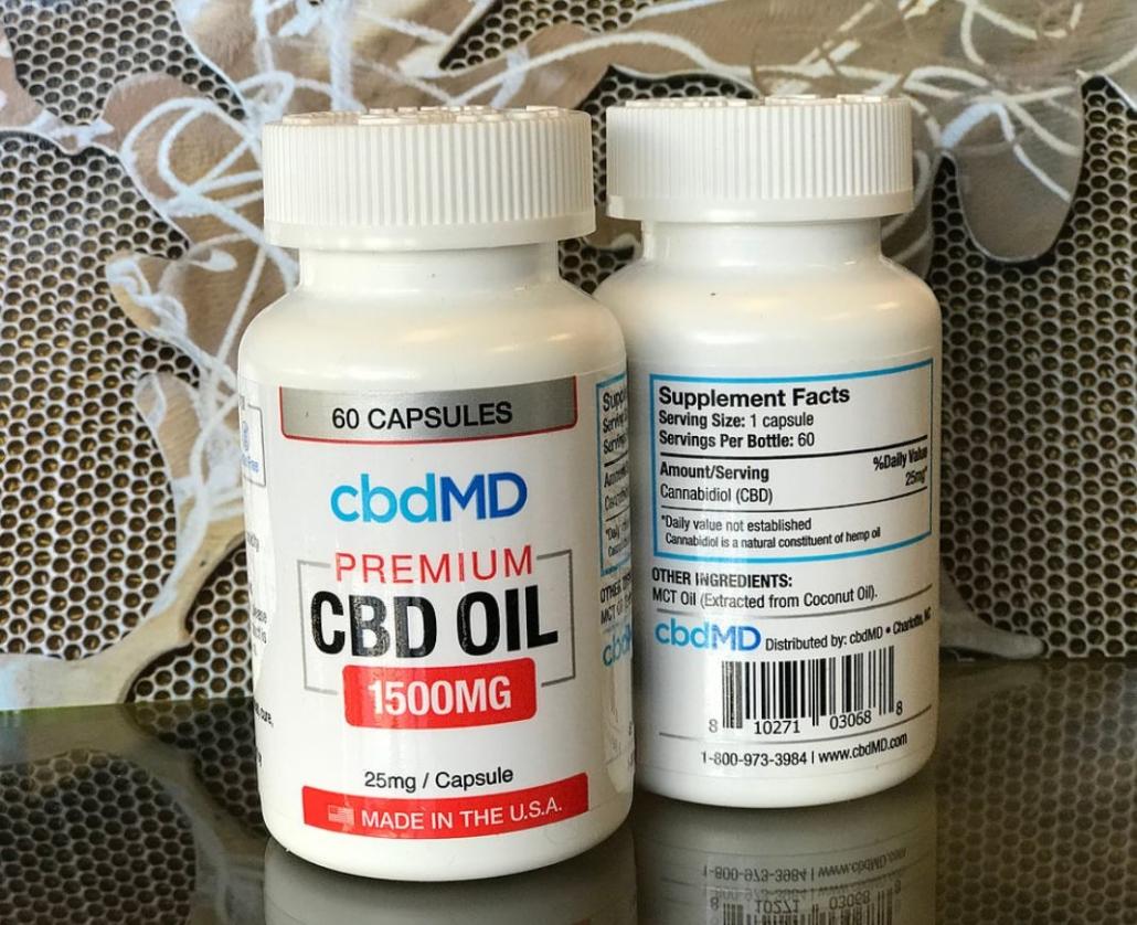 CBDmd Caps 2
