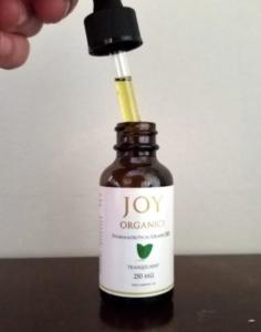 Joy Organics Oil View