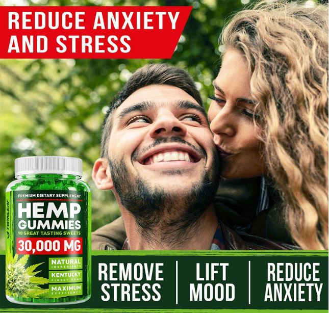 Premium Dietary Supplments Hemp Gummies 3