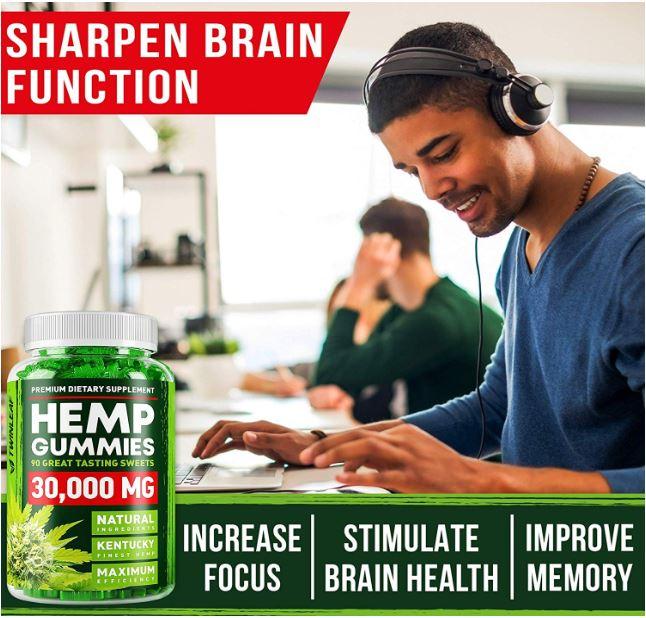 Premium Dietary Supplments Hemp Gummies 4