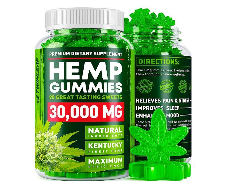 Premium Dietary Supplements Hemp Gummies