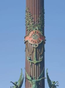 Hemp Leaves Columbus Monument