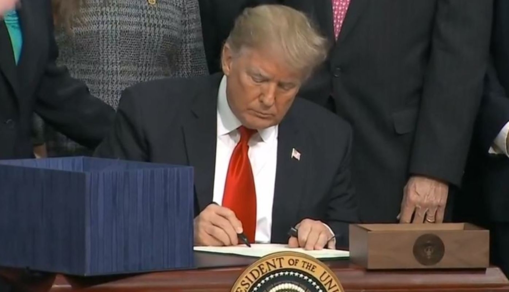 President Trump Signs The Farm Bill