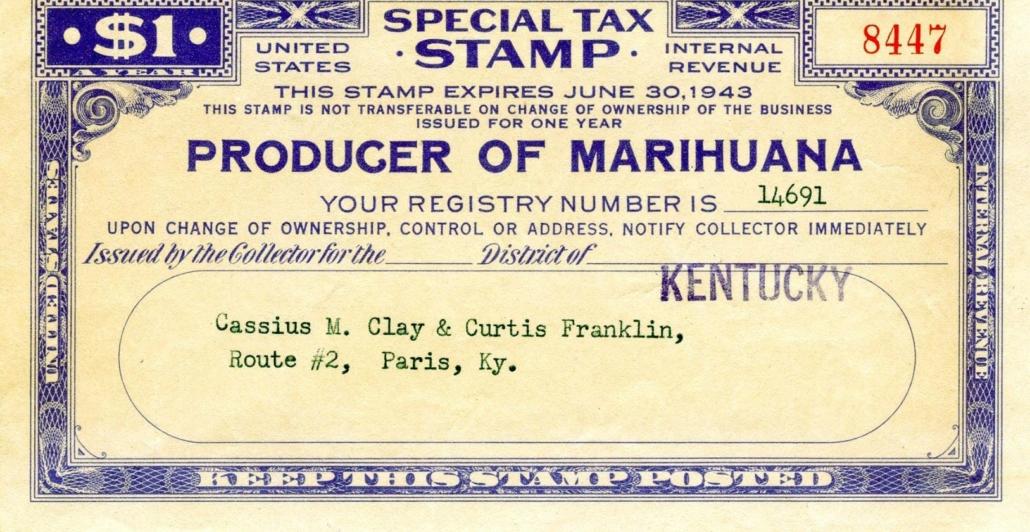 Marijuana Licence