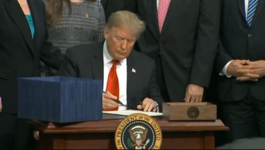 Trump Signs Farm Bill