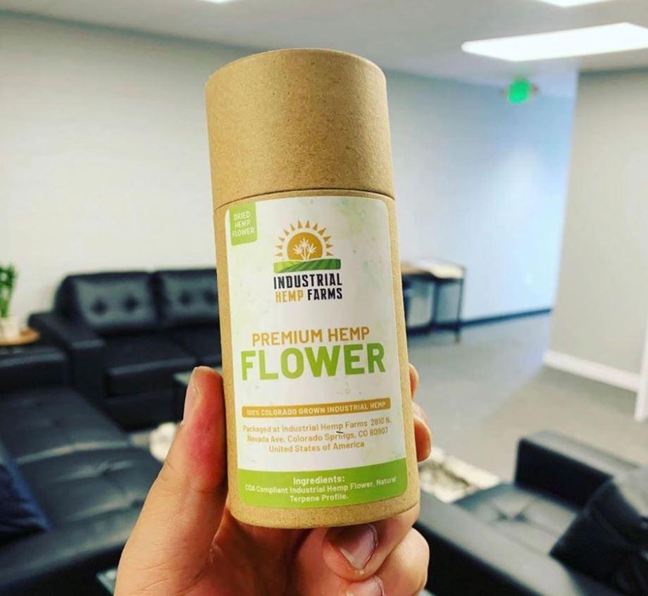 Fleur de chanvre industriel