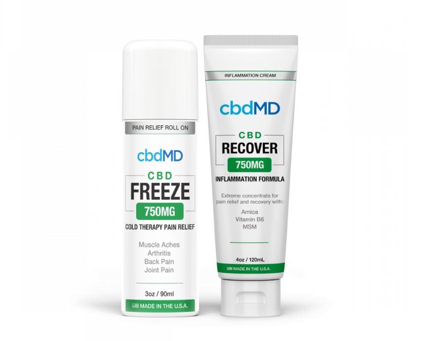 cbdmd Balm bundle